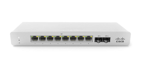 Meraki MS120-8FP 1G L2 Cloud Managed 8x GigE 127W PoE/PoE+ Switch