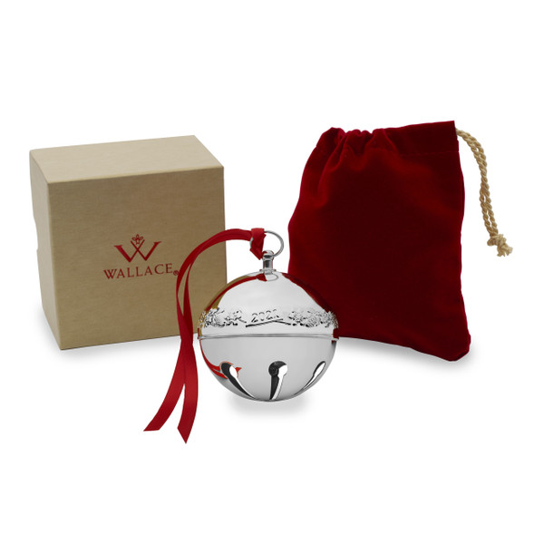 Wallace 2021 Sleigh Bell in Gift Box and Bag