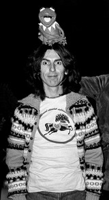 George Harrison and Kermit the Frog photo by Richard E. Aaron