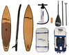 Natural Wood  Stand Up Inflatable Paddle Board