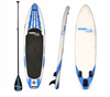 White with Blue  Inflatable SUP