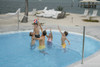 Pool Volleyball - Stainless DeckVolly - DMV190 - Deck Mounted