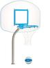 Pool Basektball Hoop - Regulation Clear Hoop - Deck Mounted