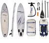 White Marble  Inflatable SUP