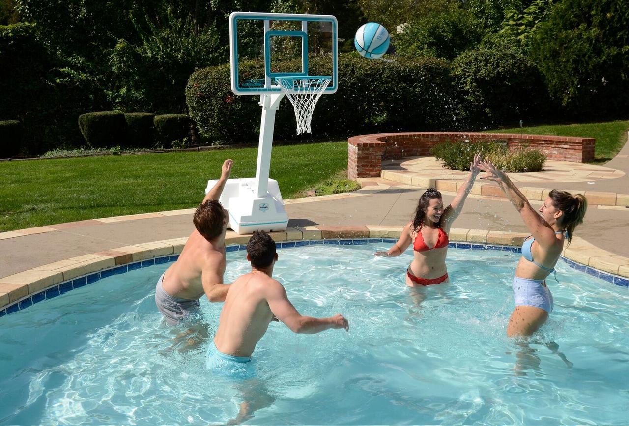 Pool Basketball Splash and Slam Clear