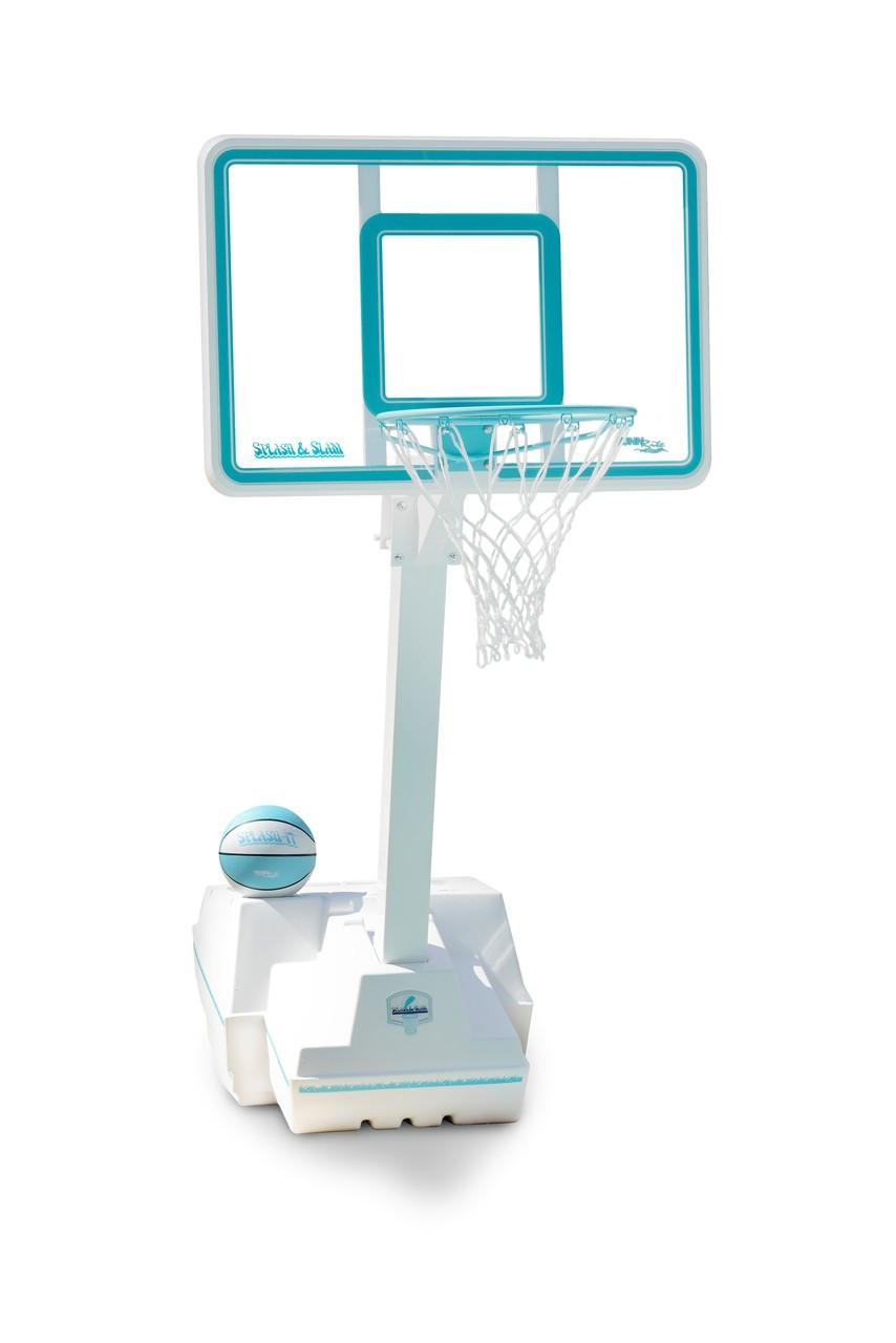 splash and slam clear pool basketball