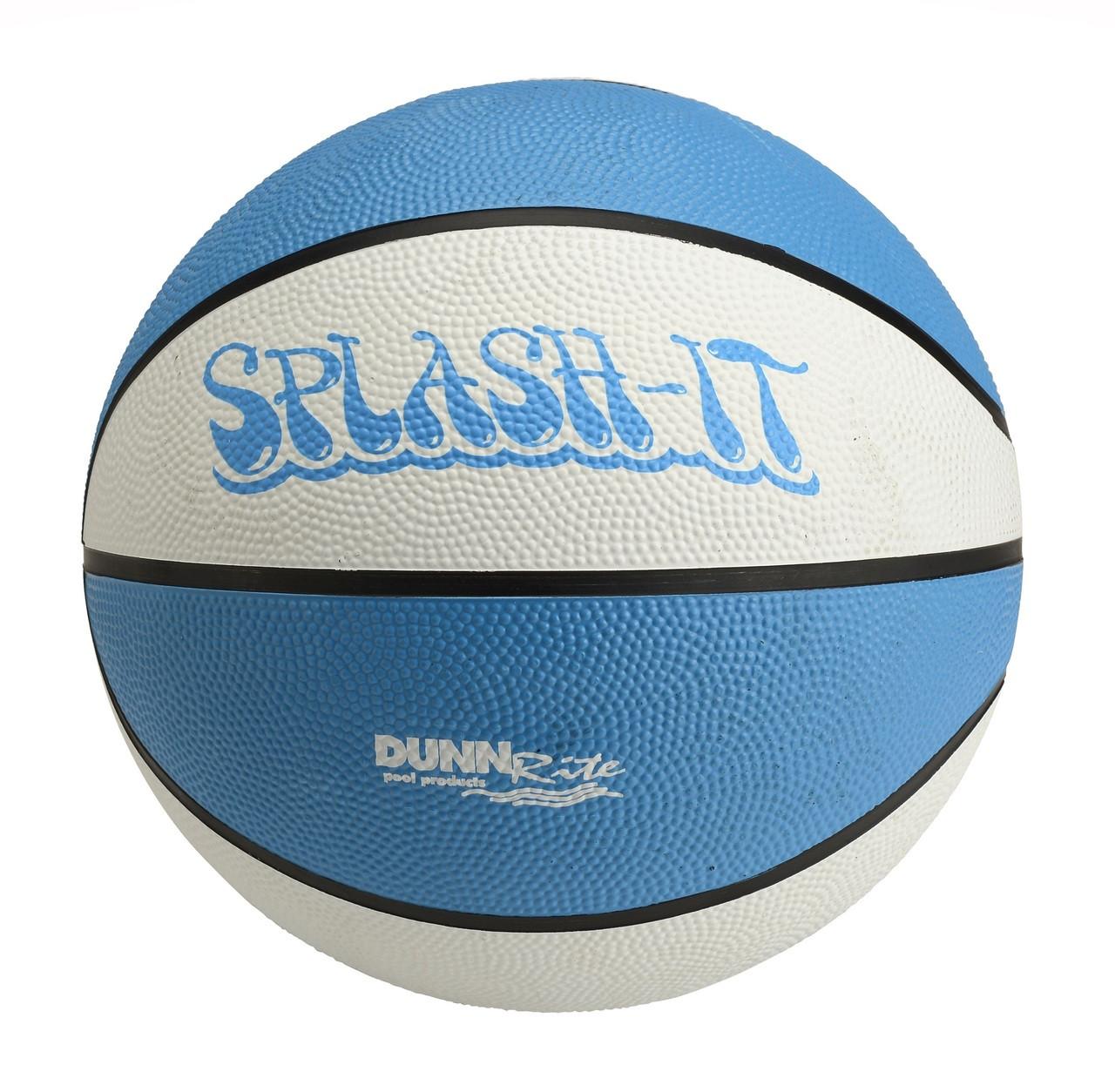 """Regulation Clear Hoop 9"""" basketball"""