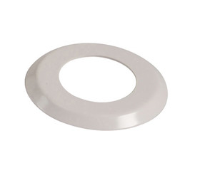 "1.90"" White  Escutcheon Ring  (4.5"" O.D) - FR190 - Pool Basketball & Volley Ball Parts"