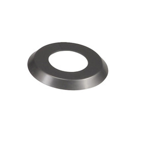 "2 3/8"" Gray  Escutcheon Ring (4.5"" O.D.) - Pool Basketball & Volley Ball Parts"