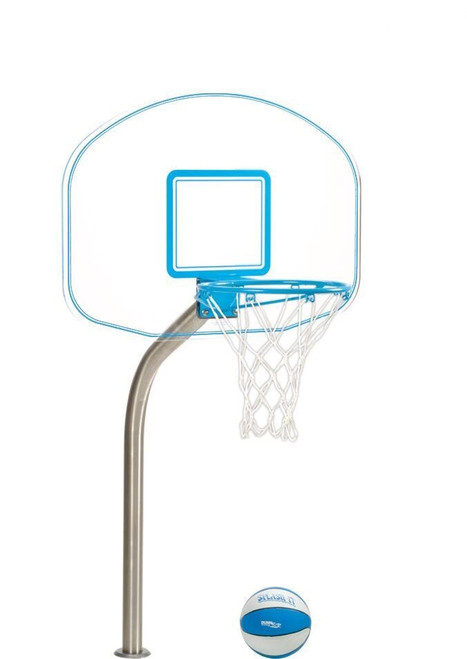 Pool Basektball Hoop - ClearHoop Jr. 1.90 - Deck Mounted