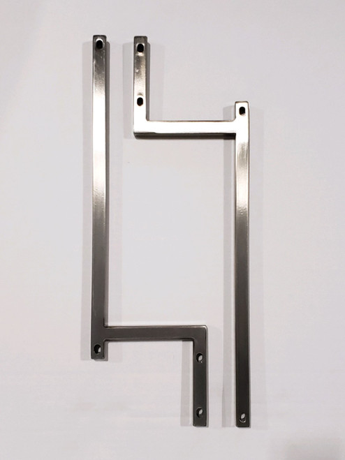 Stainless Steel Backboard Supports for Regulation Clear Hoop