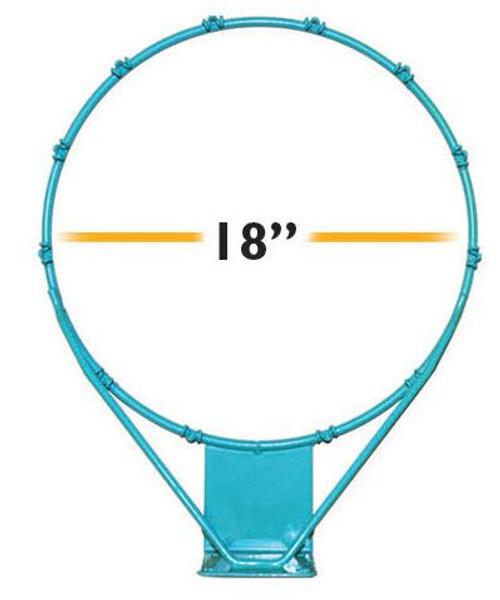Splash and Shoot Rim Stainless 18 in - RIM375 - Pool Basketball Rims