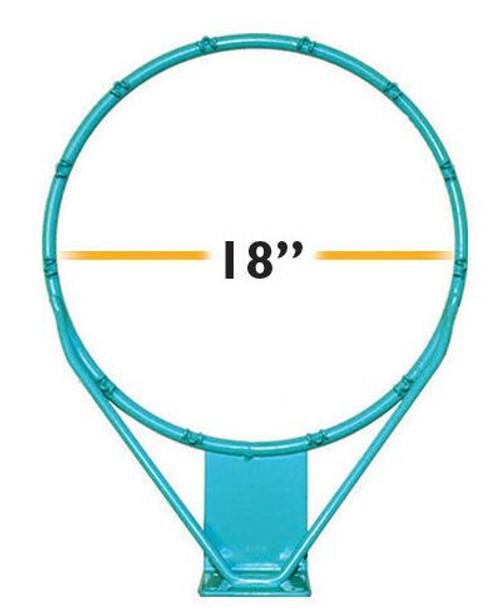 Splash and Slam Rim Stainless 18 in - RIM150 - Pool Basketball Rims