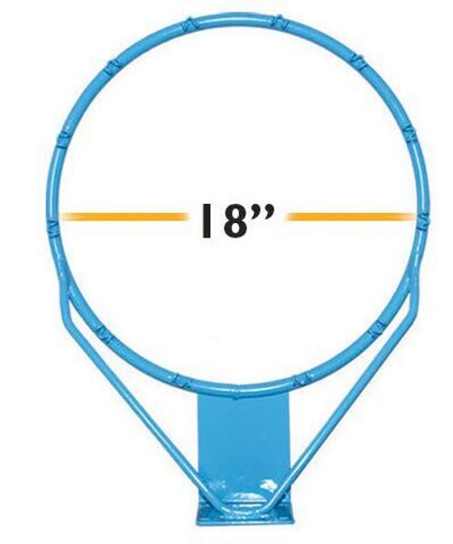Regulation Clear Hoop Stainless 18 in - RIM175 - Pool Basketball Rims