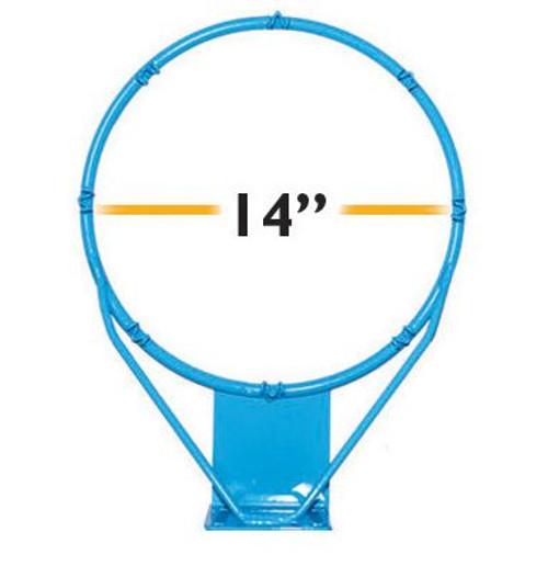 Clear Hoop Jr. Stainless 14 in - RIM900 - Pool Basketball Rims