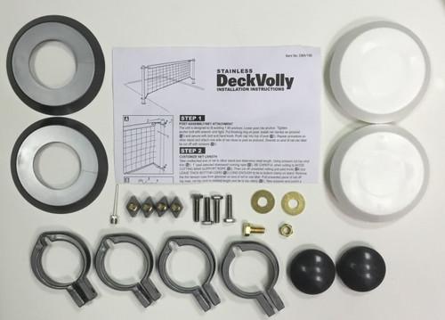 1.90 Stainless DeckVolly Hardware Bag