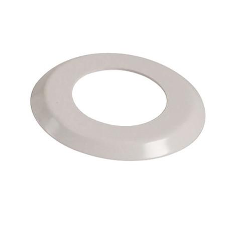 "1.90"" White  Escutcheon Ring  (4.5"" O.D) - FR190 - Pool Basketball & Volley Ball Parts"