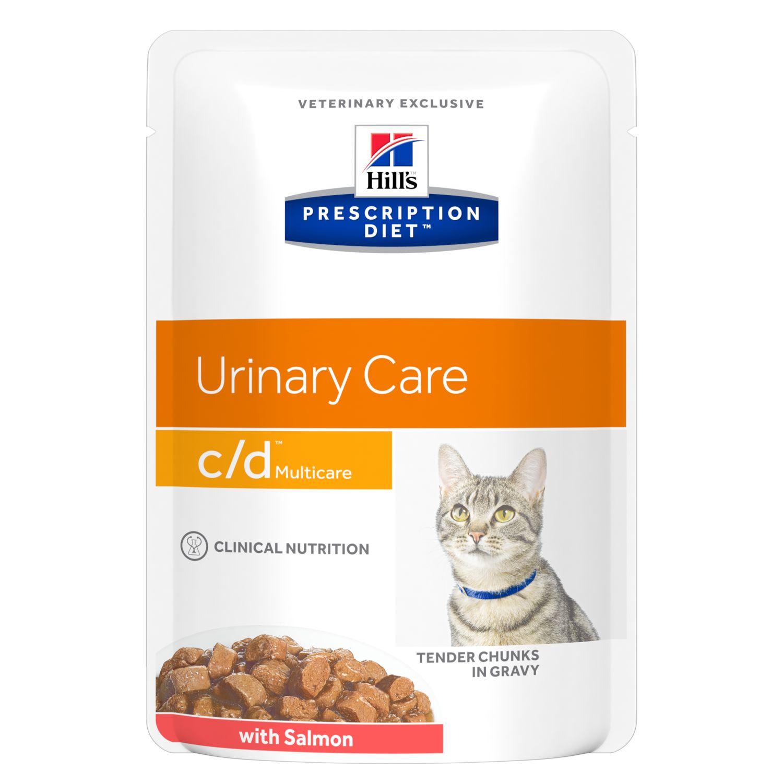Prescription Diet c/d Multicare kattfoder med lax