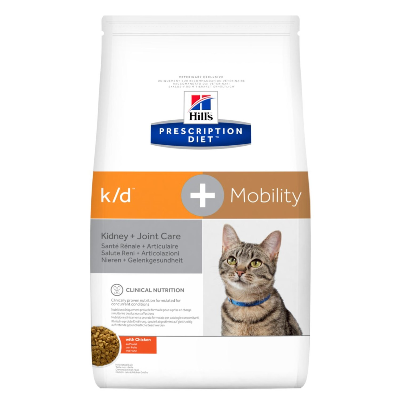 Prescription Diet k/d + Mobility kattfoder med kyckling