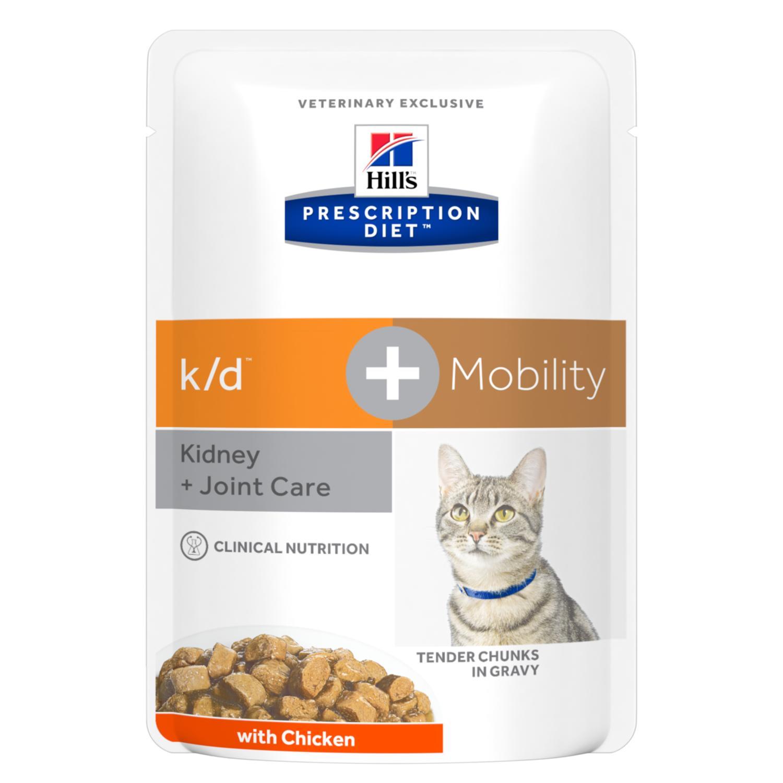 Prescription Diet k/d + Mobility våtfoder med kyckling