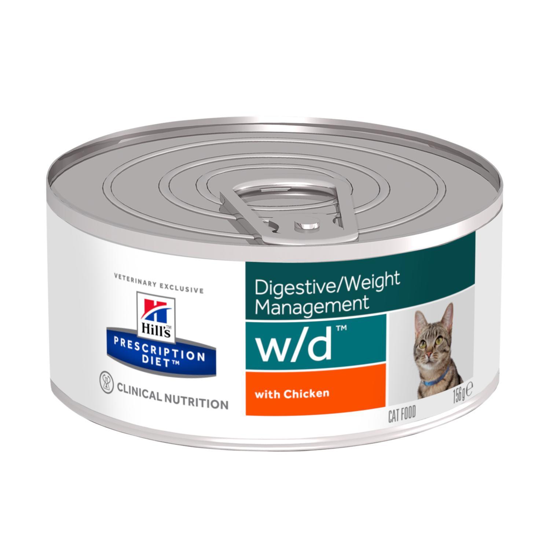 Prescription Diet w/d Multi-Benefit kattfoder