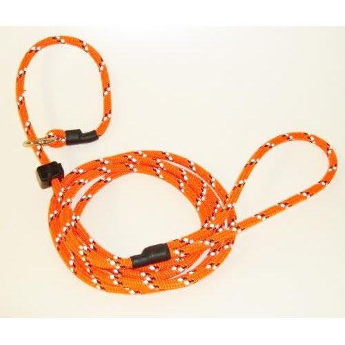 Retriverkoppel med reflex - Orange