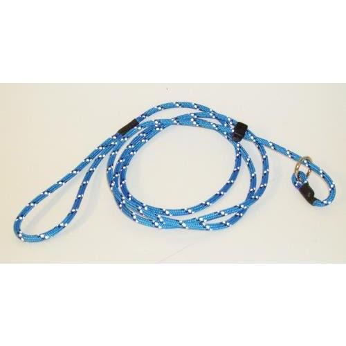 Retriverkoppel med reflex - Blå
