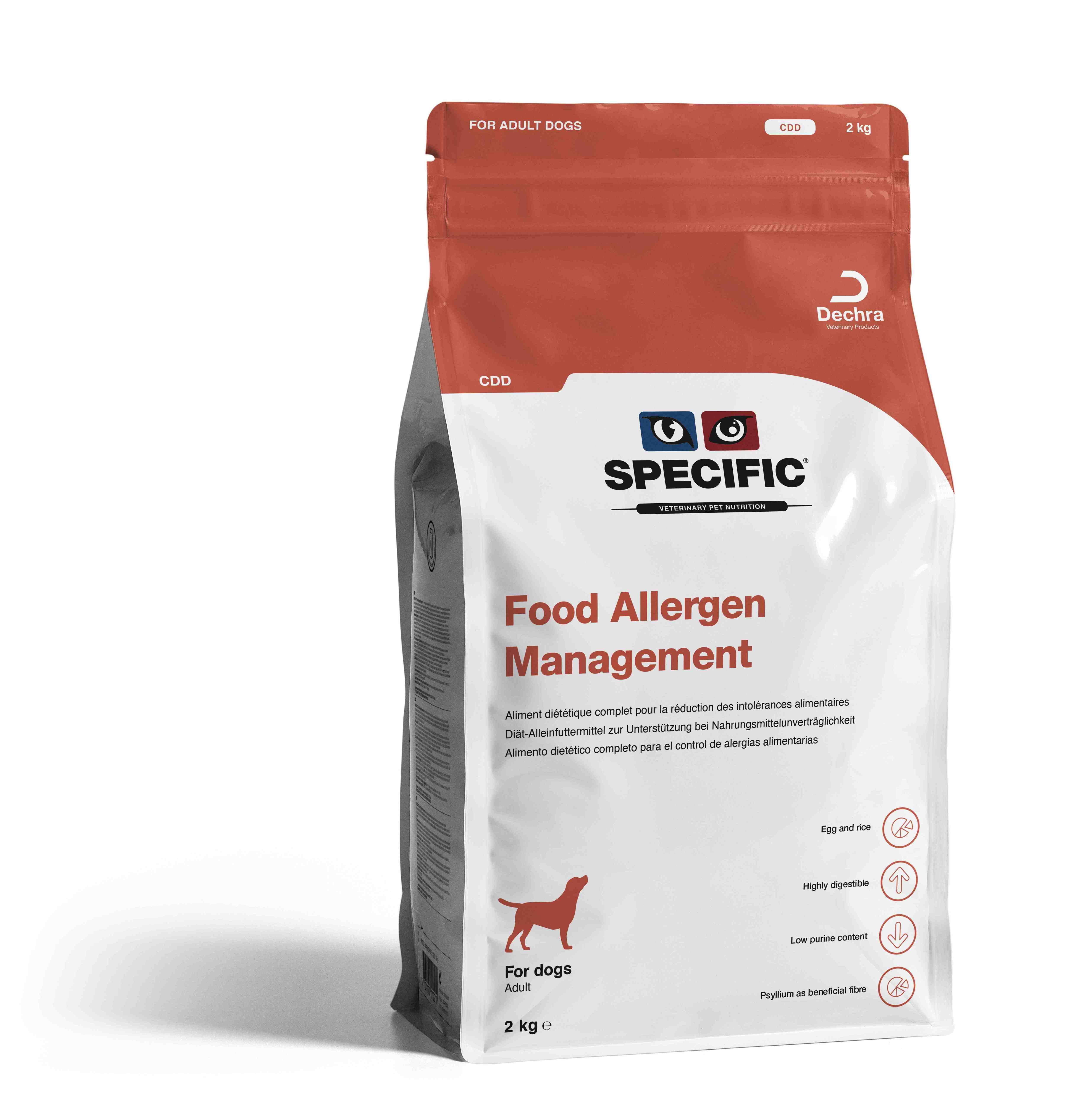 Food Allergy Management CDD - 2 kg