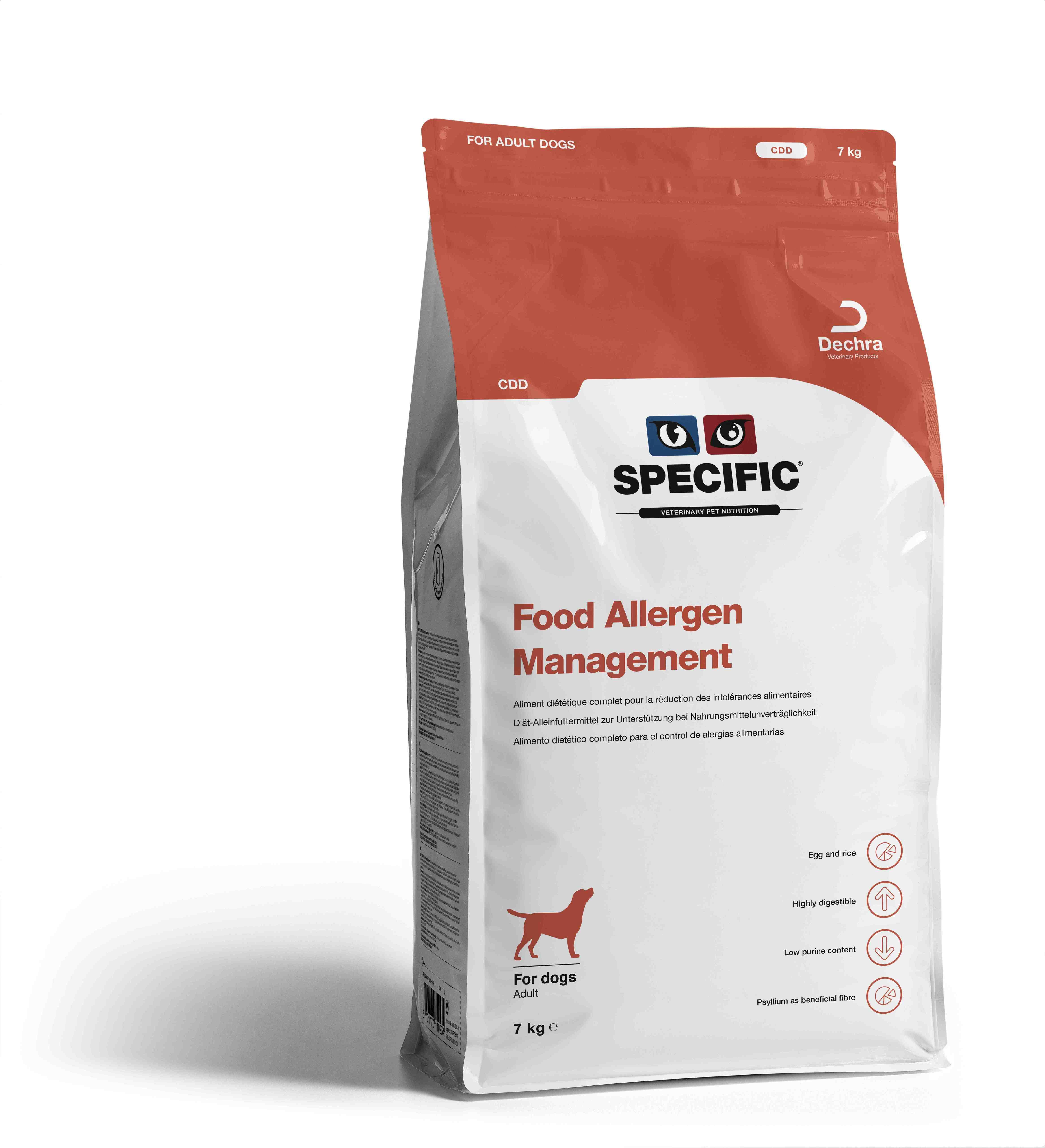 Food Allergy Management CDD - 7 kg