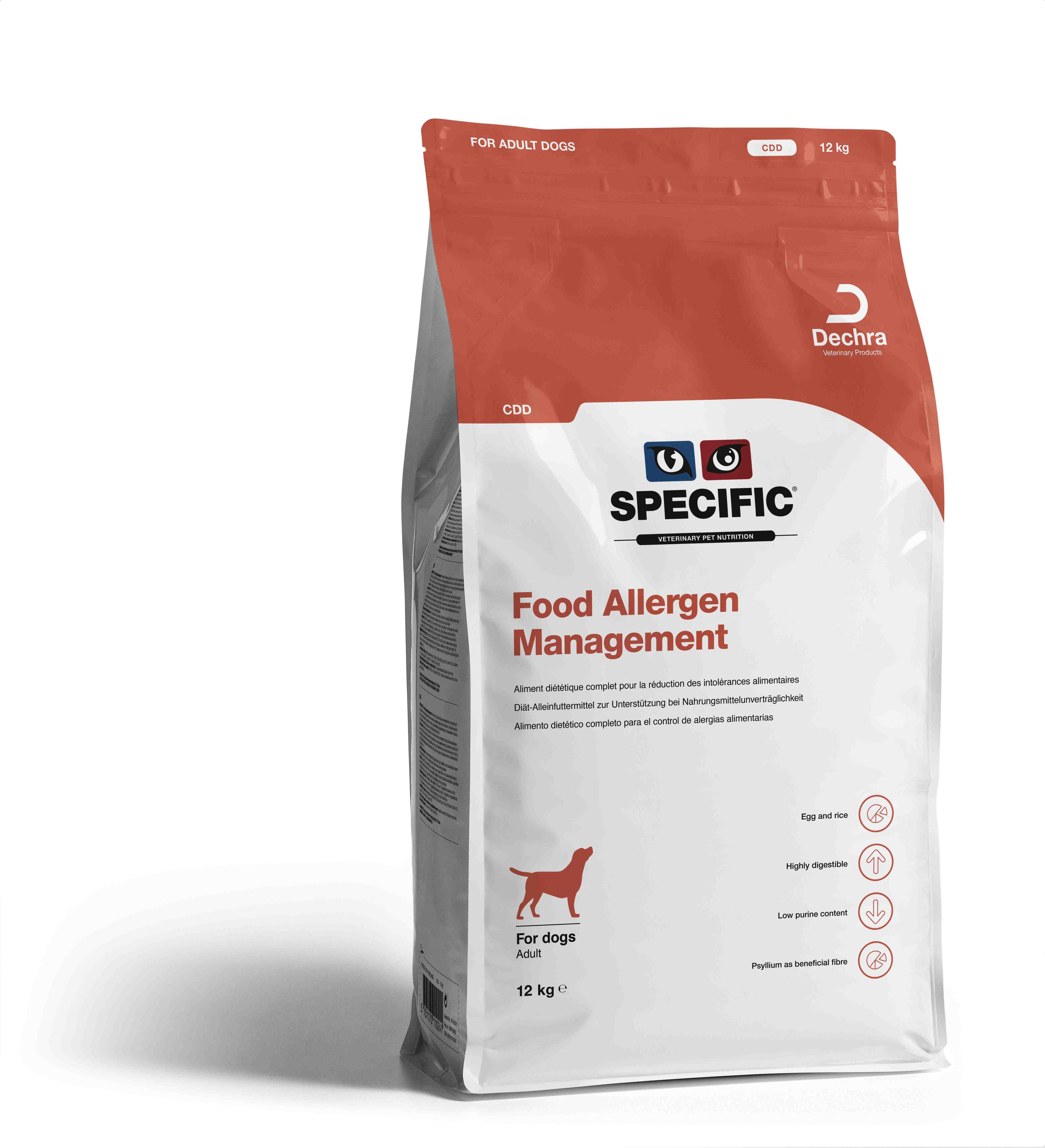 Food Allergy Management CDD - 12 kg