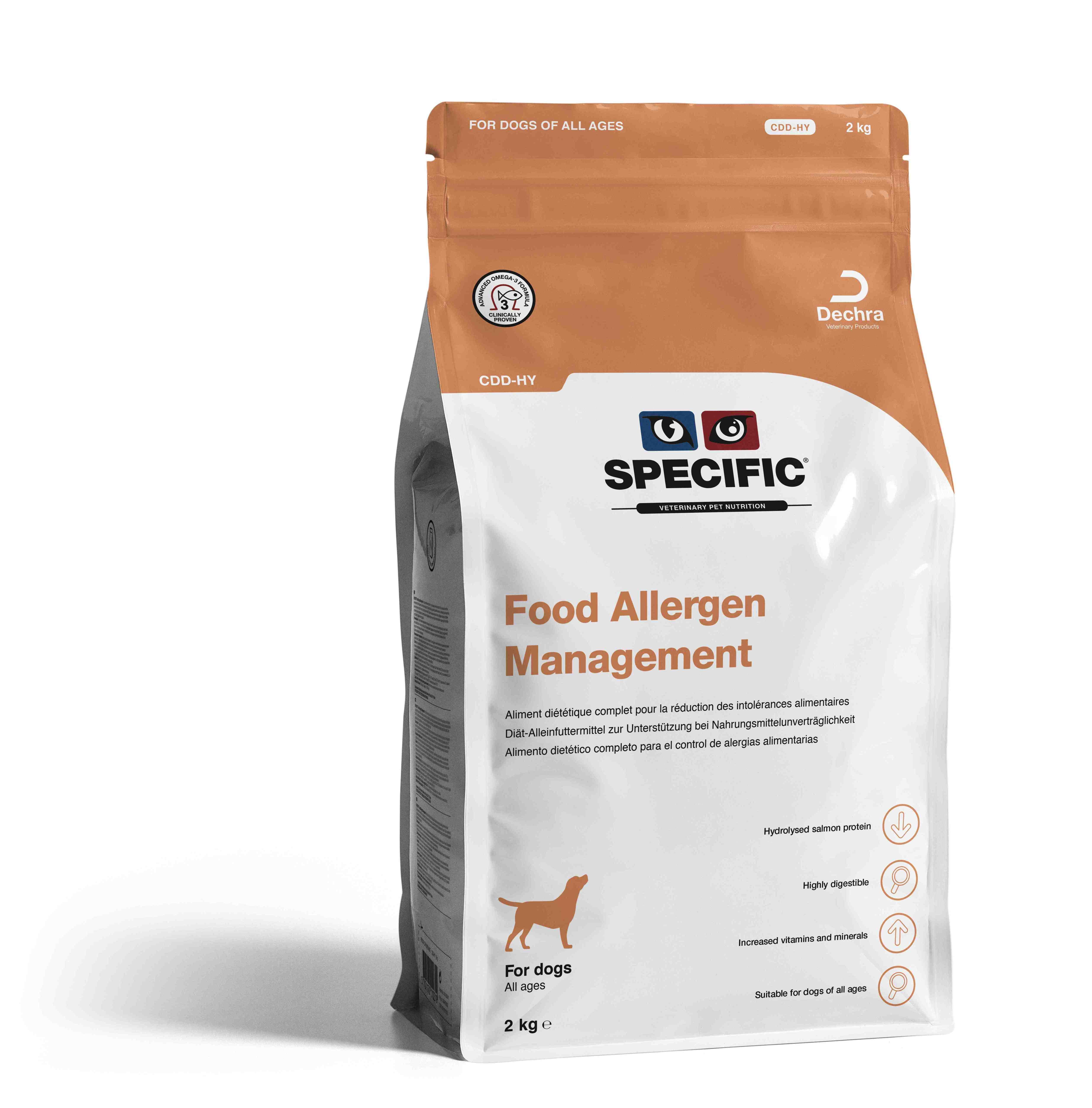 Food Allergy Management CDD-HY - 2 kg