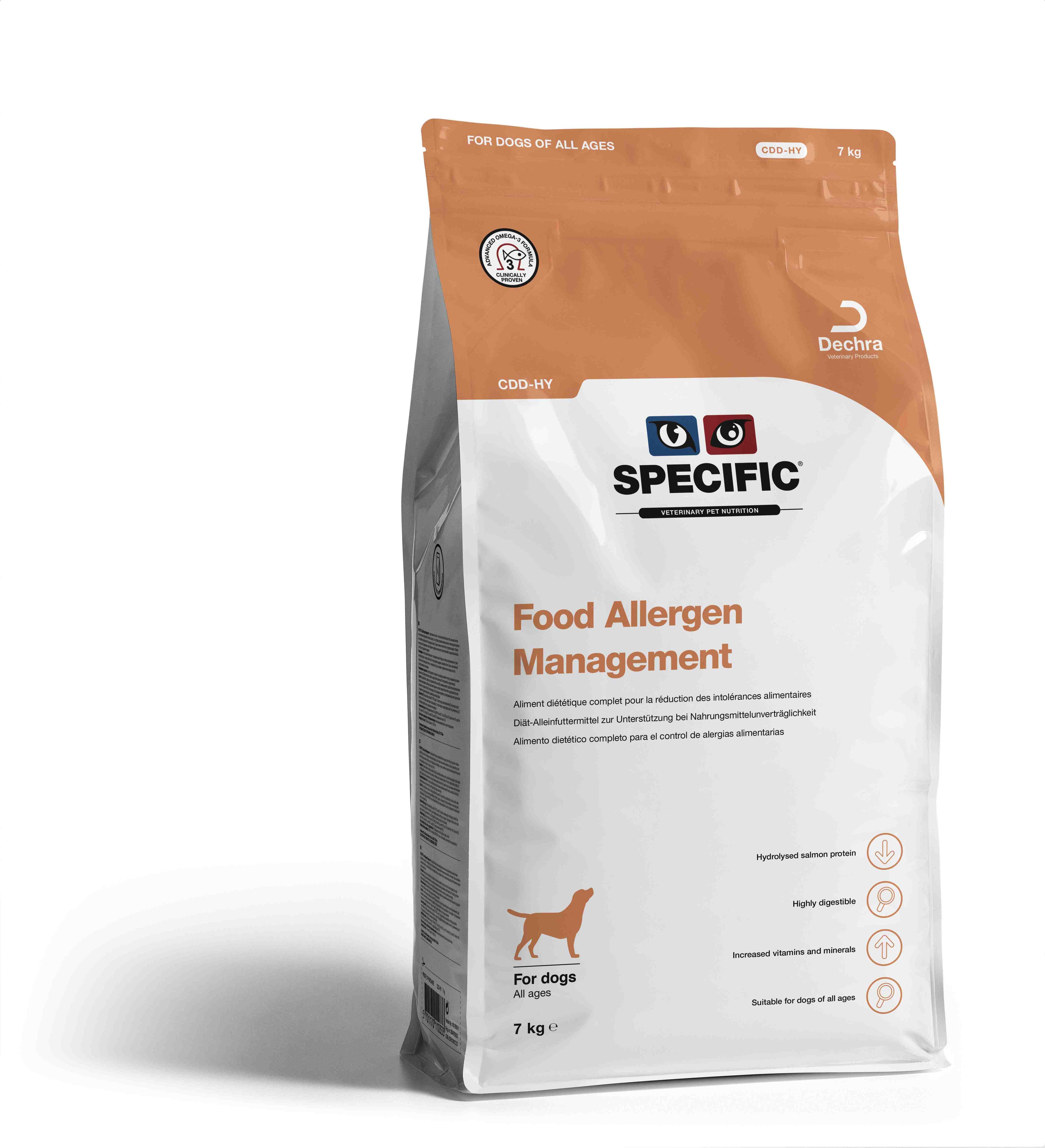 Food Allergy Management CDD-HY - 7 kg