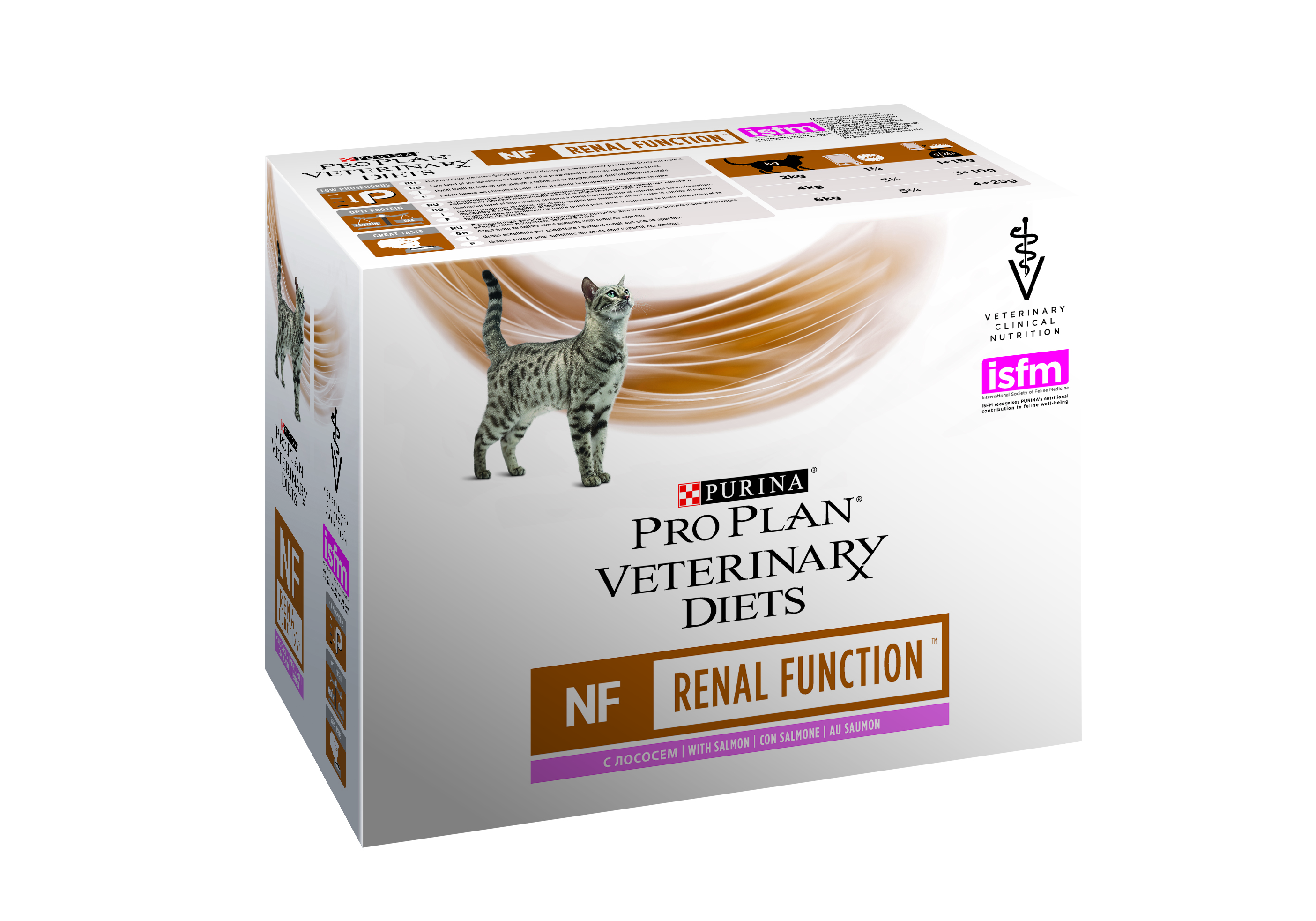 Veterinary Diets NF Renal Function Salmon Wet