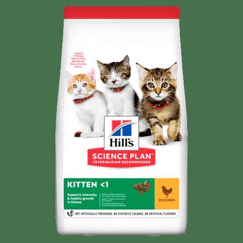 Kitten torrfoder med kyckling