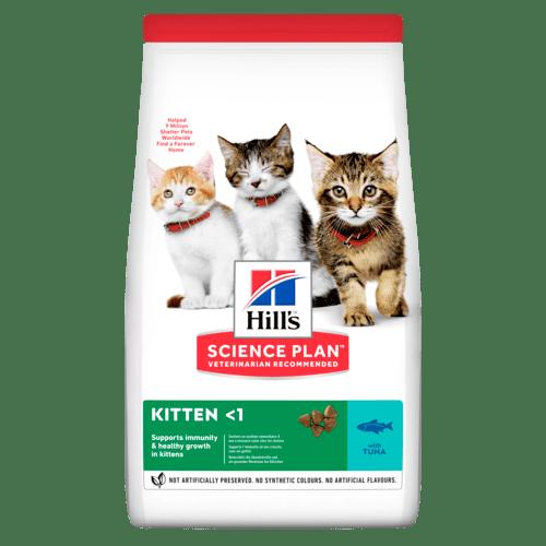 Kitten torrfoder med tonfisk