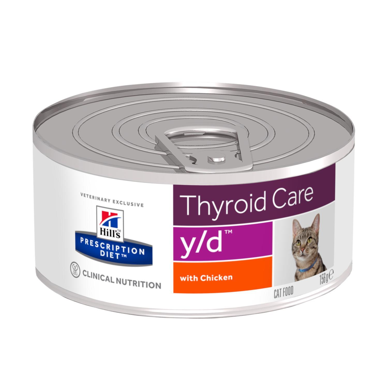 Prescription Diet y/d Feline våtfoder med kyckling