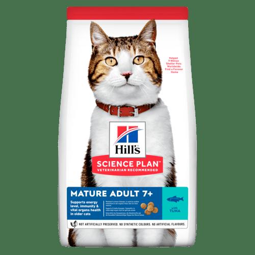 Mature Adult torrfoder med tonfisk för katt