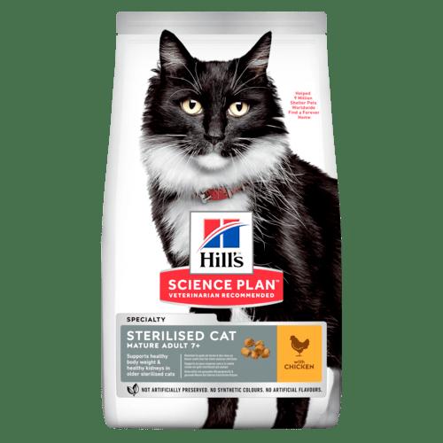 Mature Sterilised Cat torrfoder med kyckling