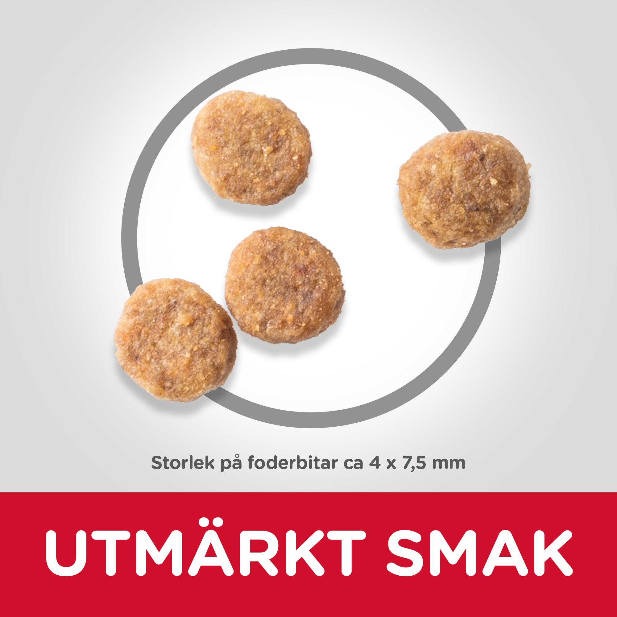 Adult Sensitive Stomach & Skin Small & Mini torrfoder med kyckling
