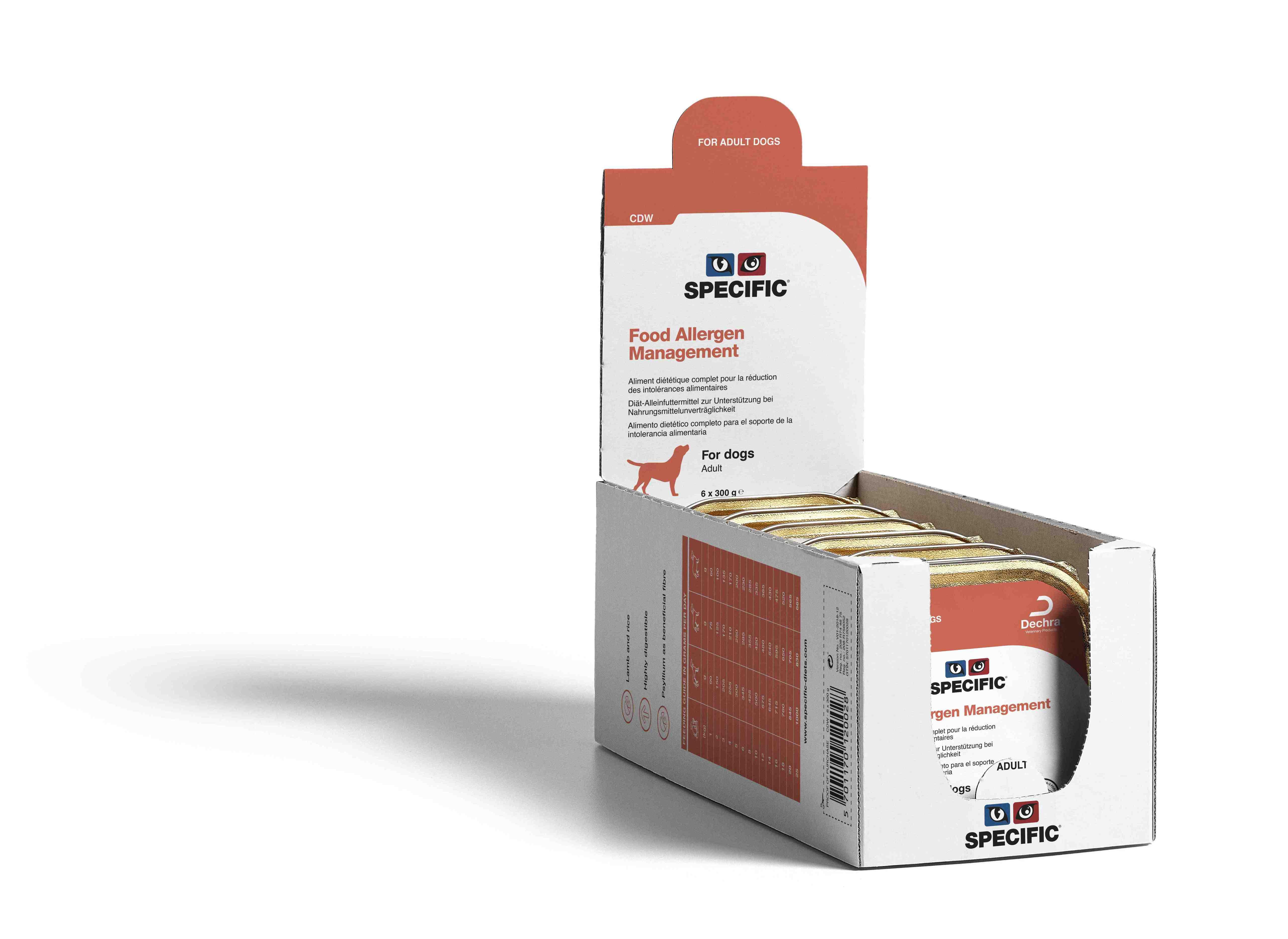 Food Allergen Management CDW - 6 x 300 g