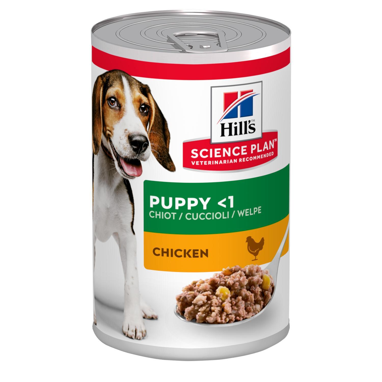 Puppy våtfoder med kyckling