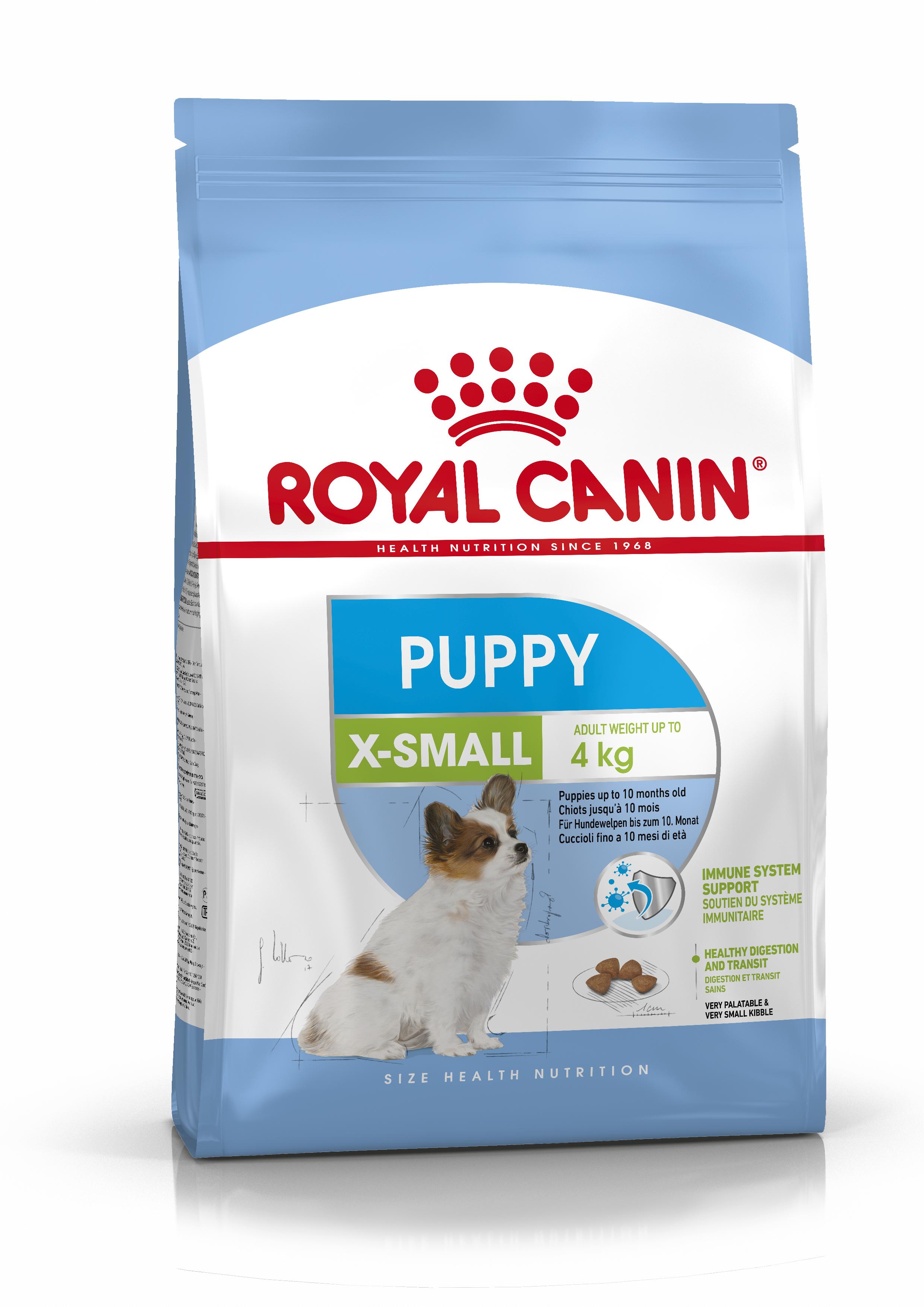 X-Small Puppy Torrfoder för hundvalp
