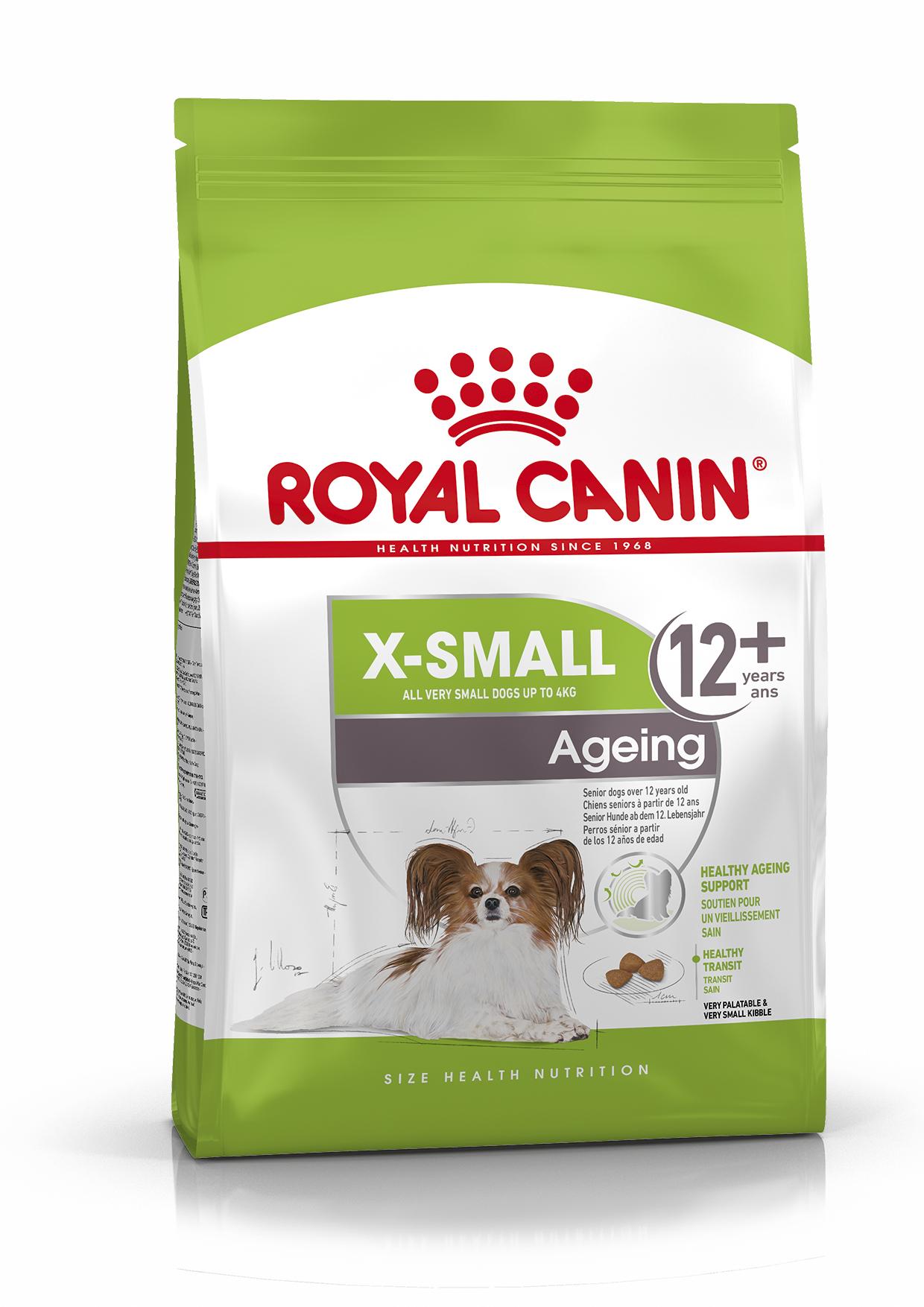 X-Small Ageing 12+ Ageing Torrfoder för hund