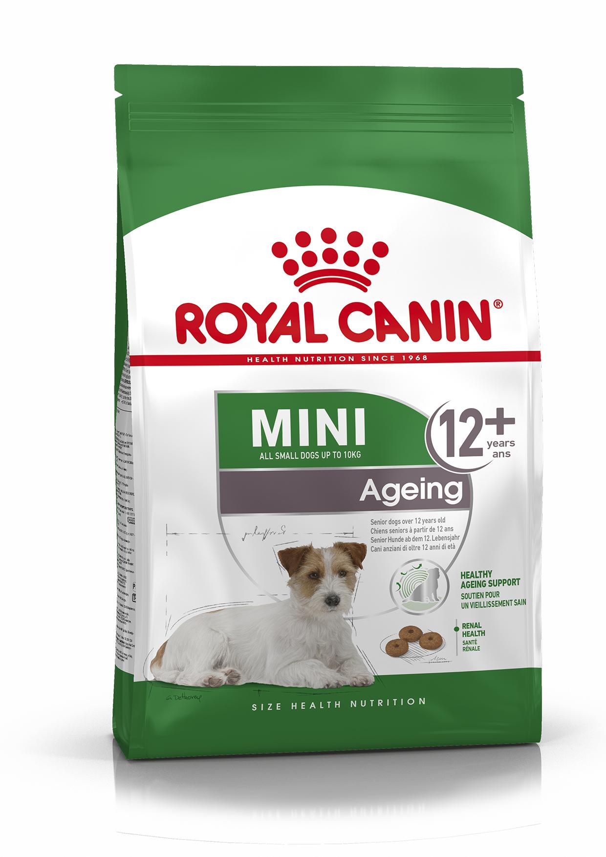 Mini Ageing 12+ Ageing Torrfoder för hund