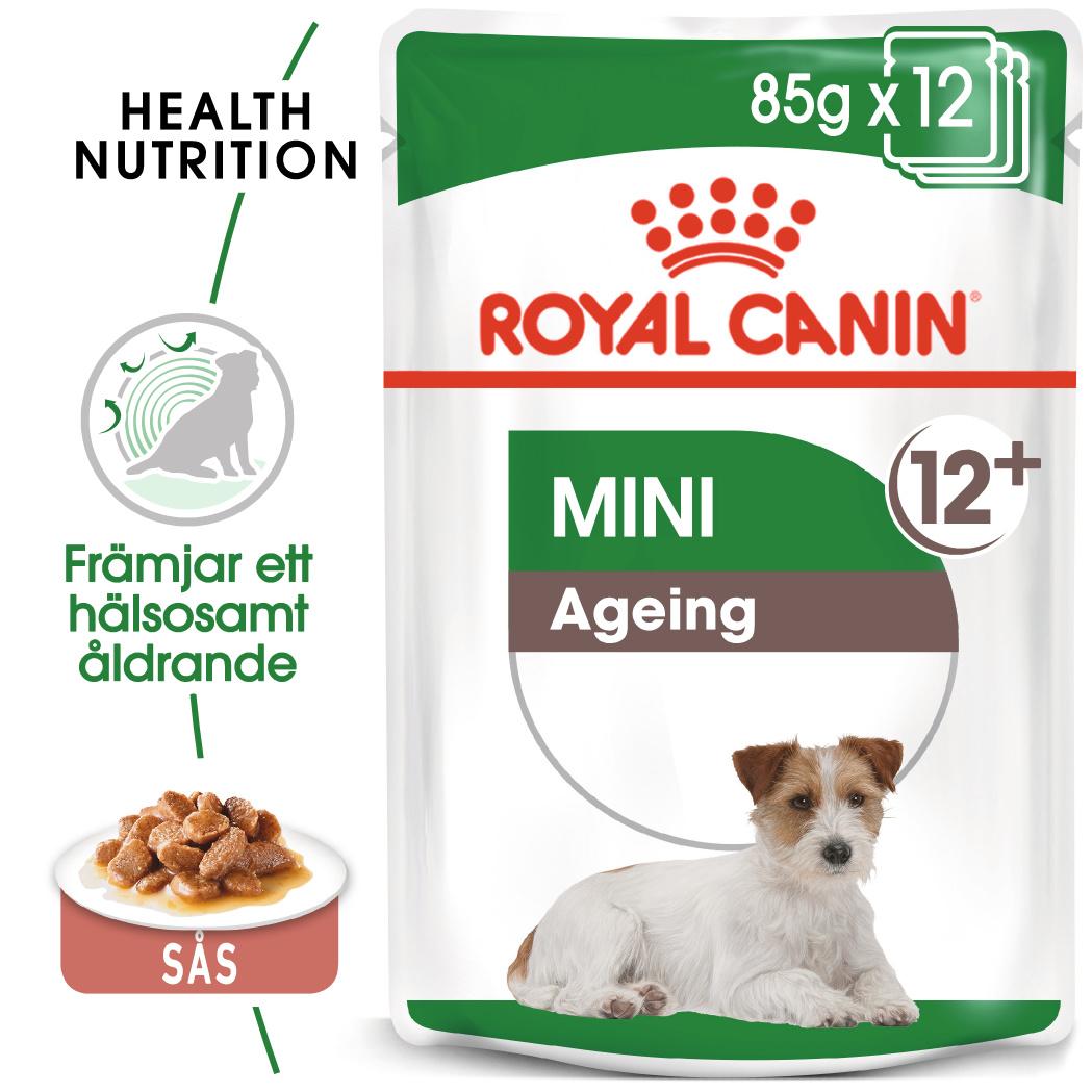 Mini Ageing 12+ Våtfoder för hund