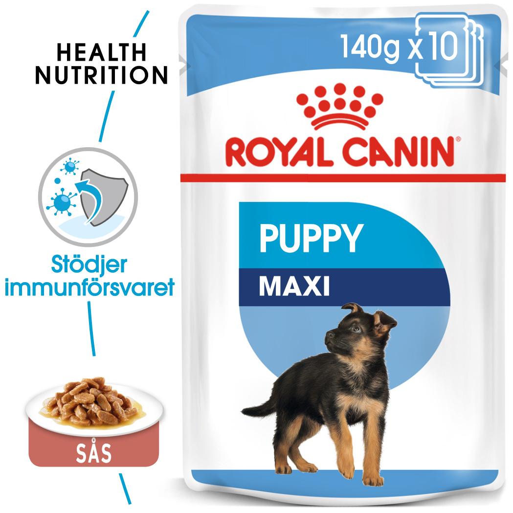 Maxi Puppy Våtfoder för hundvalp