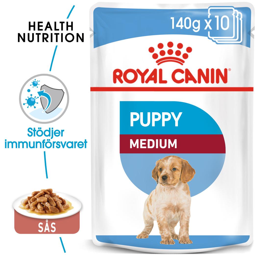 Medium Puppy Våtfoder för hundvalp