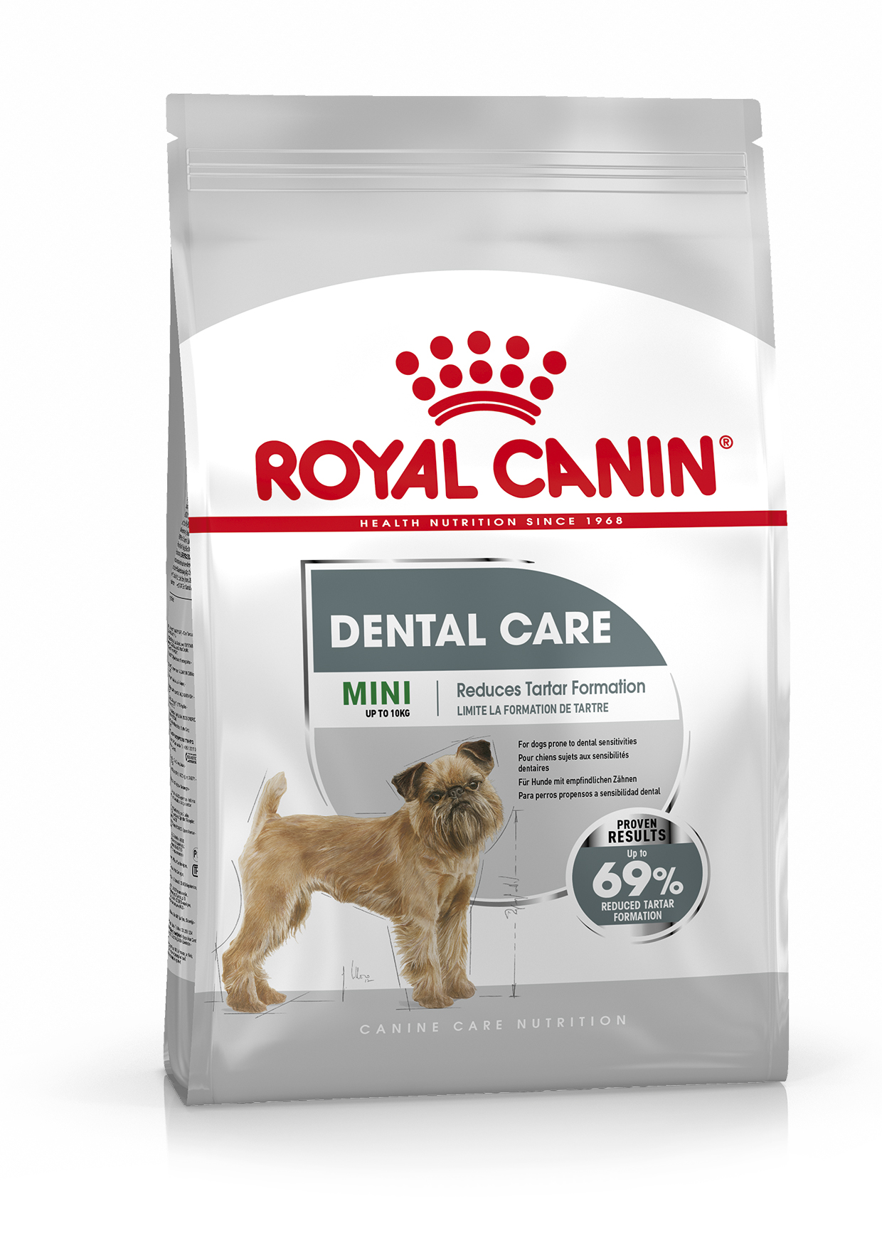 Dental Care Adult Mini Torrfoder för hund