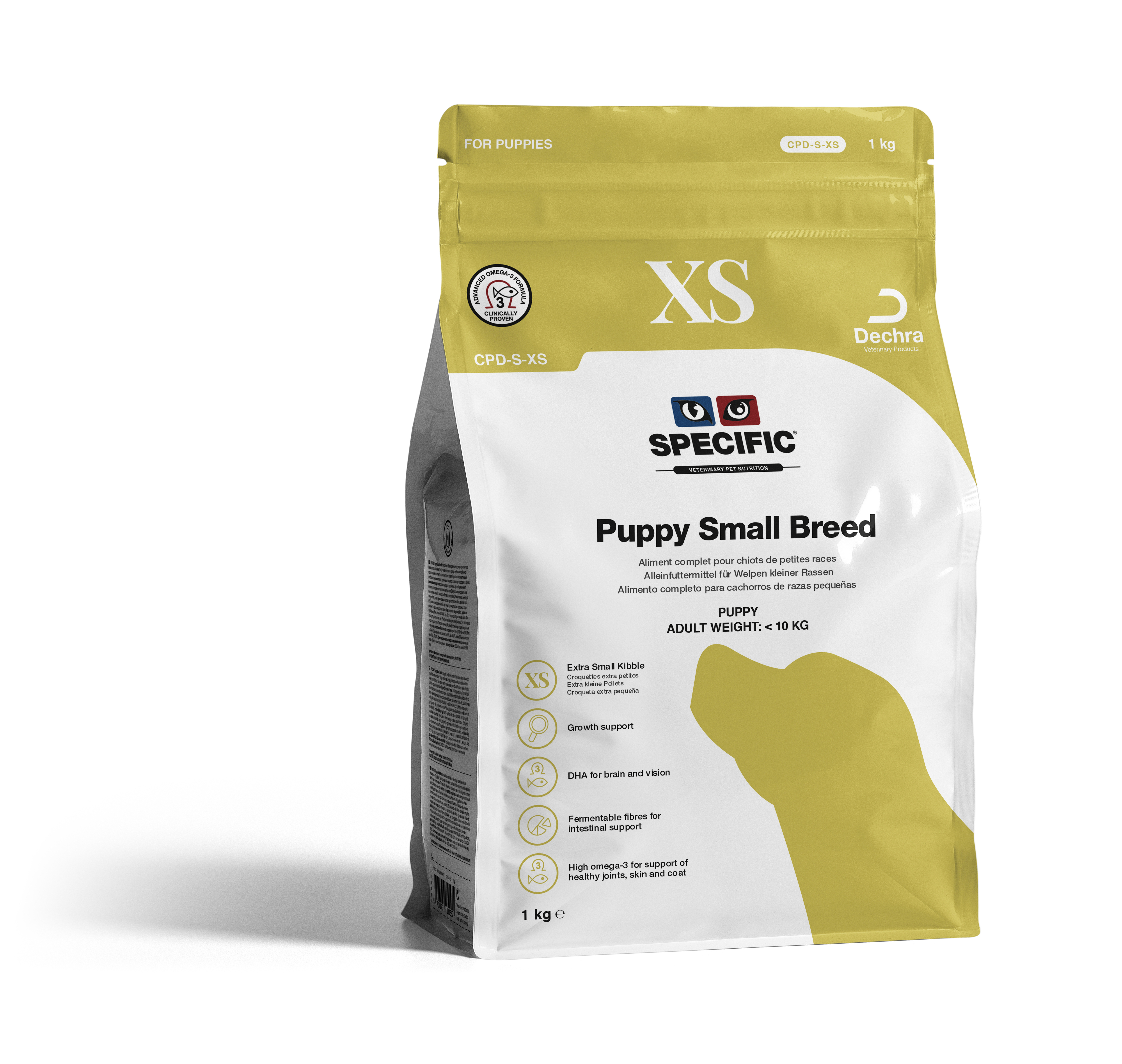 Puppy Small Breed -Extra Small Kibble CPD-XS - 1 kg
