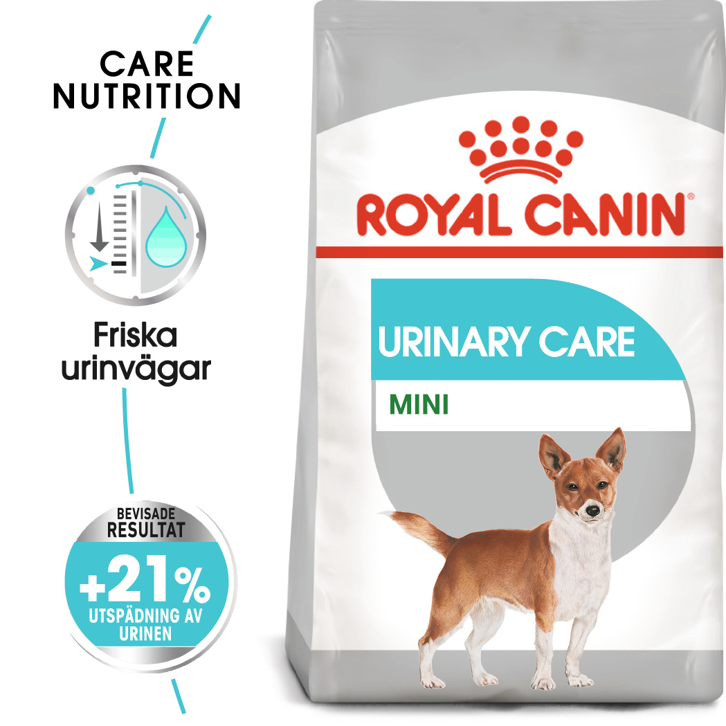 Urinary Care Adult Mini Torrfoder för hund